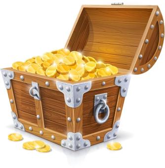 Chest Gold Money